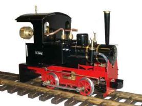 Ministeam Heidi Locomotive Gauge 1